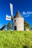 Mulino a vento Montfuron, Provenza, Francia immagine stock libera da diritti