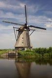 Mulino a vento nei Paesi Bassi Immagine Stock