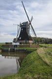 Mulino a vento, Noordermolen, Noordbroek Immagine Stock