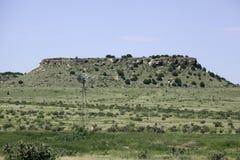 Mulino a vento in Oklahoma immagine stock