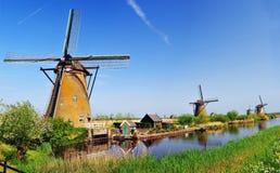 Mulino a vento Olanda Fotografia Stock Libera da Diritti