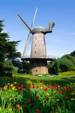 Mulino a vento olandese Immagini Stock Libere da Diritti