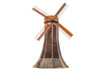 Mulino a vento olandese isolato immagini stock libere da diritti