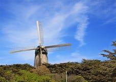 Mulino a vento olandese a San Francisco Fotografia Stock Libera da Diritti