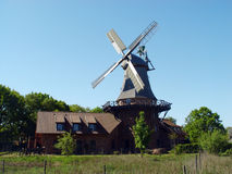 Mulino a vento Oldemburgo Fotografia Stock