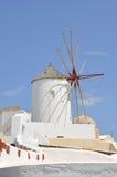 Mulino a vento - santorini (Cicladi) Fotografia Stock