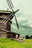 Mulino a vento solo Fotografia Stock