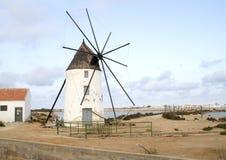 Mulino a vento in Spagna Immagini Stock Libere da Diritti
