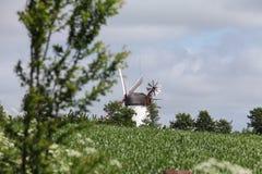 Mulino a vento storico immagine stock libera da diritti