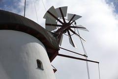 Mulino a vento storico immagini stock libere da diritti