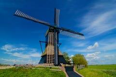 Mulino a vento dell'Olanda Fotografie Stock Libere da Diritti