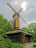 Mulino a vento svedese Fotografie Stock