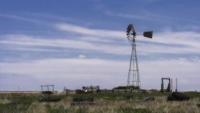 Mulino a vento - U.S.A. immagine stock