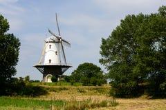 Mulino a vento, Veere, Zelandia, Olanda immagine stock libera da diritti