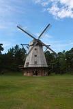 Mulino a vento in Ventspils Immagine Stock Libera da Diritti