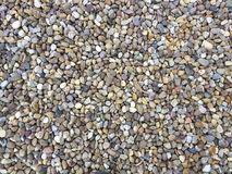 Mulit-Coloured Gravel for Backgrounds Stock Photo