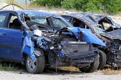 Mulitple crash Royalty Free Stock Photos