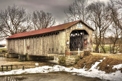 Mull Covered Bridge Royalty Free Stock Image