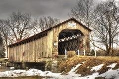 Mull Covered Bridge stock images
