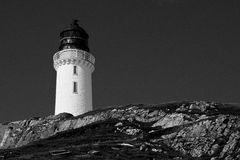 Mull of Galloway Lighthouse Royalty Free Stock Photos