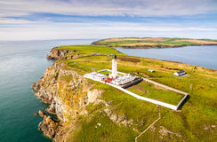 Mull of Galloway Lighthouse. The Beauty Of The Mull of Galloway Lighthouse Stock Photo