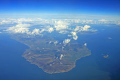 Mull of Kintyre. Looking down on the Mull of Kintyre Stock Photography