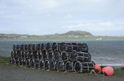 Mull Lobster Pots Royalty Free Stock Photo