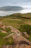 Mull, Scotland. Landscape with sea Stock Photos