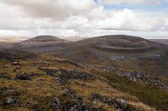 Mullaghmore dans le Burren image libre de droits