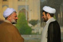 Mullahs conversation Stock Photo