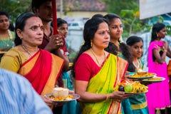 Mullakkal Chirappu festival Royaltyfri Foto
