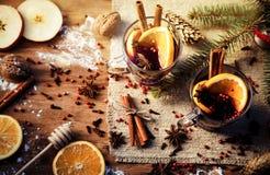 mulled вино Стоковое Фото