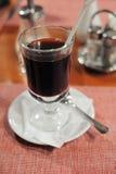 mulled стеклом вино фото Стоковое фото RF