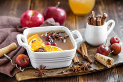 Mulled cider Stock Image