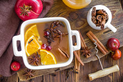 Mulled cider Stock Images