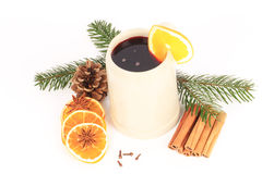 Mulled red wine Royalty Free Stock Image