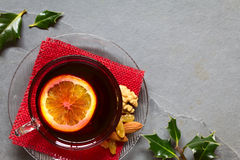 Mulled Red Wine Stock Photo