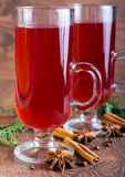 Mulled red wine Royalty Free Stock Photo