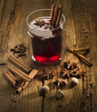 Mulled red wine Royalty Free Stock Photography