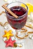 mulled wine Royaltyfria Foton