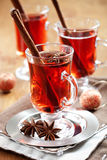 mulled wine Royaltyfri Foto