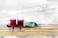 mulled wine Royaltyfria Bilder