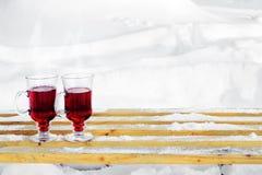 mulled wine Fotografering för Bildbyråer