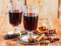 Free Mulled Wine Royalty Free Stock Photos - 50334938