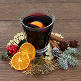 mulled wine Arkivfoto