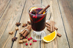 Free Mulled Wine Royalty Free Stock Photography - 63350127