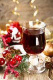 mulled wine Royaltyfri Bild