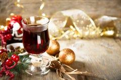 mulled wine Arkivfoto