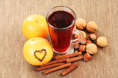 Mulled wine Royalty Free Stock Photo
