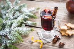 Mulled wine on Christmas eve Stock Photos